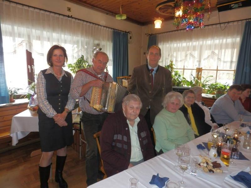 85 Geburtstag von Friedrich Gschwandtner
