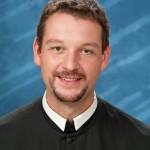 Portrait von Kaplan P. Altmann Wand OSB