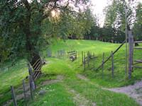 Landschaftsaufnahme in der nähe von Kleinzell